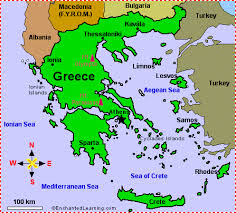 Ancient Greece Map With Cities.Ancient Greek Cities Ancient Greece
